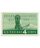 1959 4c Oregon Statehood Scott 1124 Mint F/VF NH - £0.74 GBP