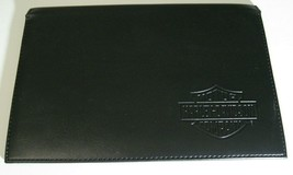 Harley-Davidson Sportster Owner's Manual Embossed Leather Cover Case Pouch NEW - $26.71