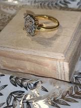 EDCO gold tone ring  - $15.00