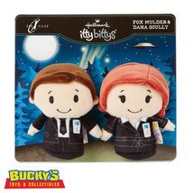 The X-Files Fox Mulder & Dana Scully Hallmark itty bitty bittys  Special... - £20.74 GBP