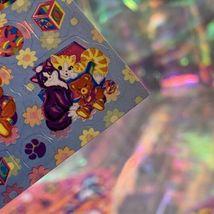 LEGIT VINTAGE Lisa Frank Sticker Sheet S722 Kitties & Teddy Bears & Blocks image 6