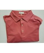 Peter Millar Golf shirt men's size XXL never worn short sleeve maude color - $49.00