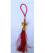 Talisman Priction Amuleto Chino Feng Shui Charm Tipo Anillo Puerta Colgante - $8.01