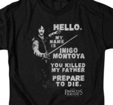 "The Princess Bride retro t-shirt ""My name is Inigo Montoya"" graphic tee PB125 image 2"
