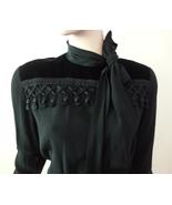 Vintage Balenciaga 1980s Size 40 US Size 8 Blac... - $650.00