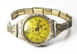 Vintage Women's Fontain Art Deco Wristwatch 25mm Scepter Case Not Running - $19.79