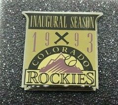 1993 MLB Colorado Rockies Inaugural Season Limited Condition Pin Set image 4