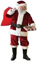 Crimson Regency Santa Claus Christmas Holiday Fancy Dress Deluxe Adult C... - $99.99+