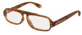 NEW Gucci Sunglasses GG0615S 001 Havana/Transparent Lens Design 53mm - $222.13