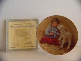 Getting Acuainted Hamilton Collection; Roman Inc w COA - $5.99