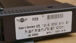 BMW Mini Cooper R50 R52 R53 Harman/Kardon Amp Amplifier 65.12-6 959 01001 image 4
