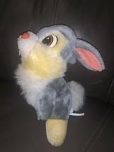 "RARE Vintage Disney Store 1990's 9"" Thumper Plush Stuffed HTF Dark Hard Nose - $21.77"
