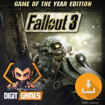 Fallout 3 Game of the Year (GOTY) - PC / Steam CD Key - Game Download Code  - $9.99