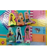 1990 Meet Me At The Mall Game Player Pieces with Bases Includes Parents  - $12.73