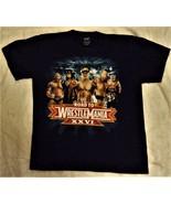 Road to Wrestlemania XXVI WWE Cena Bautista Undertaker Blue T Shirt Boys - $9.50
