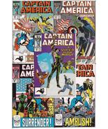 Marvel Captain America Lot Issues #342-346 Freedom Force Viper Action Ad... - $9.95