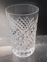 Alana Signed Waterford CUT GLASS Hi Ball crystal Ireland - $36.15