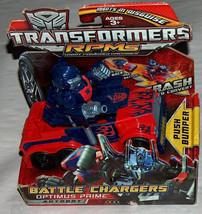 Transformers Optimus Prime Bataille Chargeur Rpms Autobots Nouveau en Pa... - $21.92