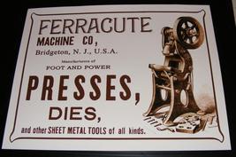 Ferracute Machine Company RARE COLLECTION - $20,000.00
