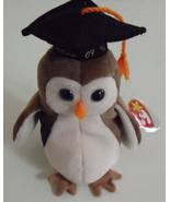 Ty Beanie Babies NWT Wise the Owl Retired - $9.95