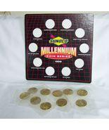 1999 Sunoco Millennium Brass Coin Set, Complete - $12.00