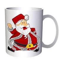 Santa Claus Happy Winter 11oz Mug p448 - $10.83