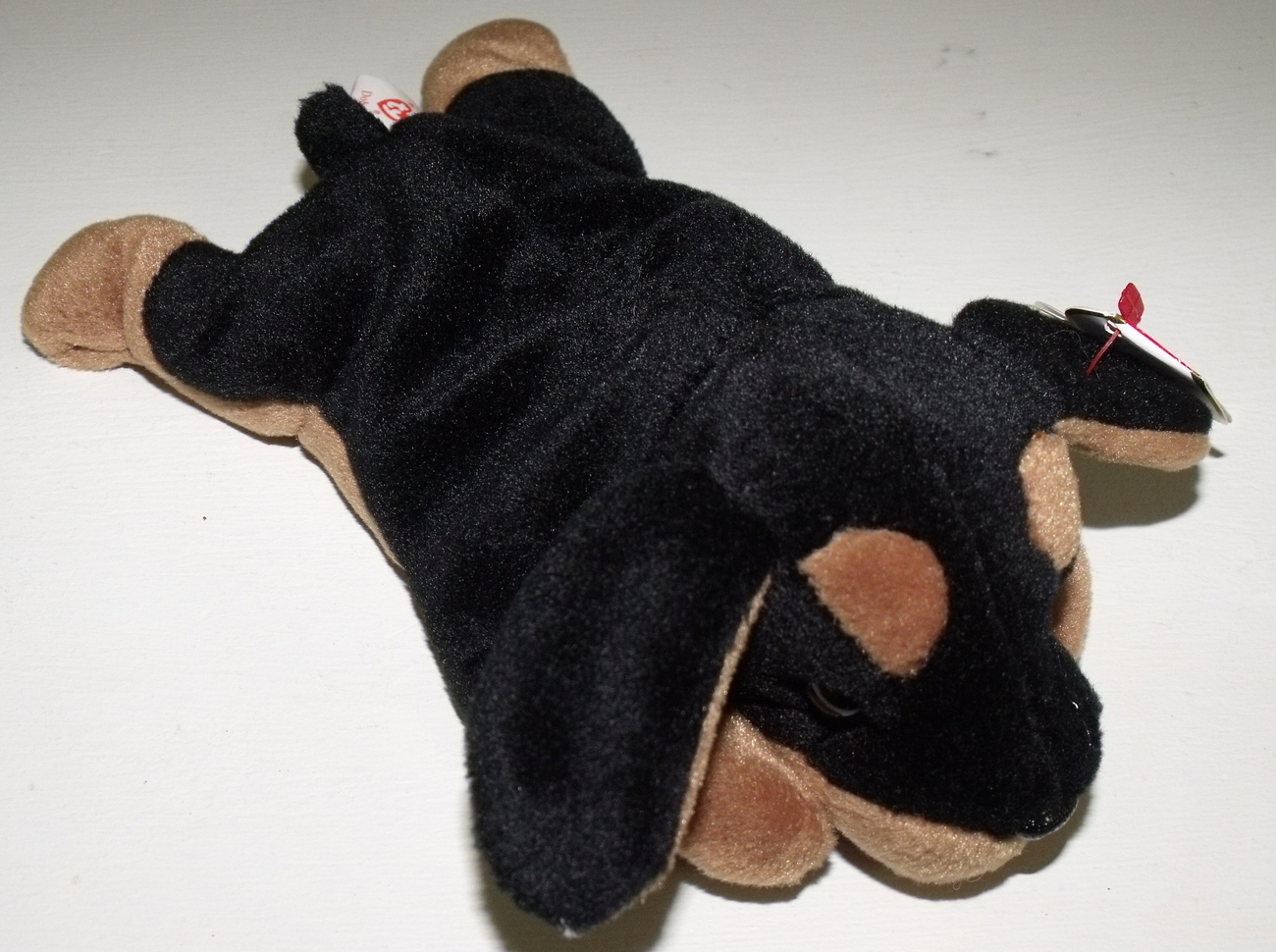 Ty Beanie Babies NWT Doby the Doverman Retired