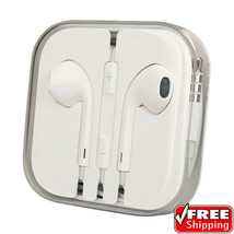 Apple iPhone 4 5 6 Plus 6S + iPod iPad Original OEM Earbuds Headphones 3... - $11.53