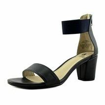 White Mountain Elinie Ankle Strap Sandals Navy/Smooth, Size 8 M - $35.63