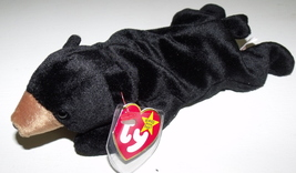 Ty Beanie Babies NWT Blackie the Black Bear Retired - $9.95