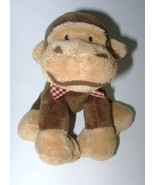 Chosun Monkey Plush Stuffed Animal Brown Red Gi... - $9.97