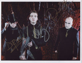 Alkaline Trio (Band) FULLY SIGNED Photo + COA Lifetime Guarantee - $149.99