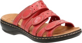 Clarks Leisa Cacti Sandals (Women's) $85 in Red Cow Full Grain Leather -... - $106.09 CAD