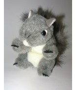 Folkmanis Mini Gray Squirrel Finger Puppet Real... - $9.95