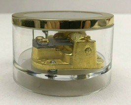 Vintage LAUREL JAPAN Music Box Complete Mechanism Acrylic Case Movement ... - $14.84