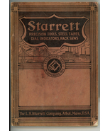 Starrett precision tools Catalog No. 26 1938 Athol MA vintage  - $9.99