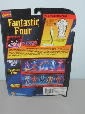 1996 Marvel Fantastic Four Medusa FigureIn The Package