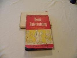 "Book ""The Family Book of Home Entertaining"" 1960 - $5.00"