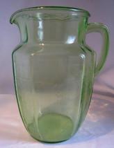 Anchor Hocking Princess Pattern Green Depression Glass Lemonade Tea H2O ... - $18.43