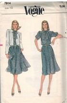 7914 non Découpé Vogue Patron Couture Femmes Coupe Large Veste Très Faci... - $7.98