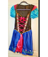 Leg Avenue halloween S Small costume ANNA Frozen ALPINE Sexy outfit dres... - $0.98