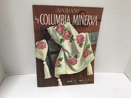 Afghans By Columbia Minerva Vtg Patteen Book #742 - $9.89