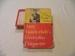 "Book- ""Amy Vanderbilt's Everyday Etiquette"" 1956"