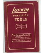 Lufkin Precision Tools catalog No. 7 1937 Saginay MI vintage - $9.00