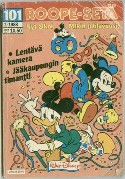 Foreign Language Walt Disney Comics Digest Mickey Mouse