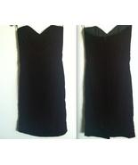 SCOTT McCLINTOCK classic black evening dress velvet velveteen RARE NWT s... - $49.99