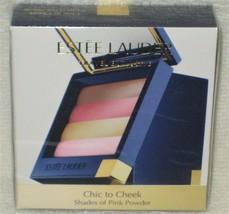Estee Lauder Chic to Cheek Travel Exclusive Shades of Pink Powder - NIB - LE - $39.98