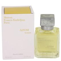 Maison Francis Kurkdjian Apom Homme Cologne 2.4 Oz Eau De Toilette Spray image 5