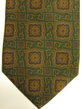 NEW Brooks Brothers Complex Design in Green, Brown Purple Neck Tie USA - $37.49