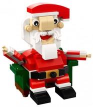 LEGO Holiday Santa 40206 Building Kit (155 Piece New) Santa Claus Christmas - $18.88